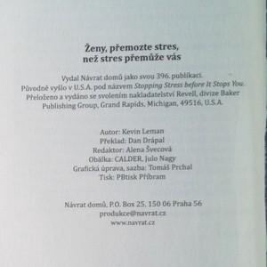 antikvární kniha Ženy, přemožte stres, než stres přemůže vás, neuveden