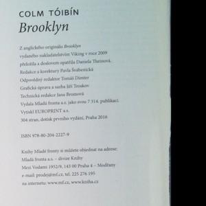 antikvární kniha Brooklyn, 2016