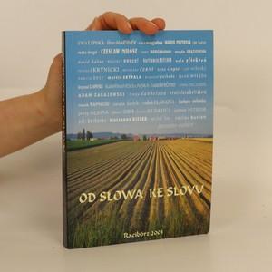 náhled knihy - Od słowa ke slovu