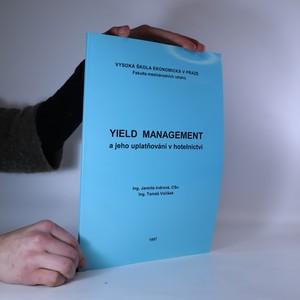 náhled knihy - Yield management a jeho uplatňování v hotelnictví