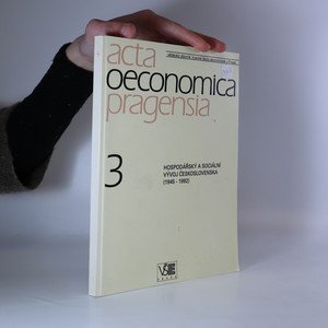 náhled knihy - Hospodářský a sociální vývoj Československa (1945 - 1992) Acta Oeconomica Pragensia 3. díl