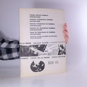 náhled knihy - Bienále ilustrácií Bratislava Československo