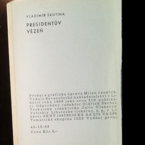antikvární kniha Presidentův vězeň, 1969