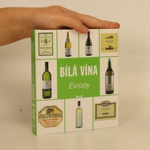 náhled knihy - Bílá vína Evropy