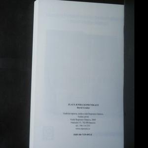 antikvární kniha Zlatá kniha komunikace, 2005