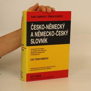 náhled knihy - Česko-německý a německo-český slovník - Nový Unikum