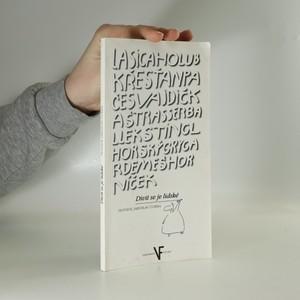 náhled knihy - Divit se je lidské