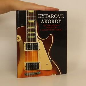 náhled knihy - Kytarové akordy : 150 základních durových a mollových akordů