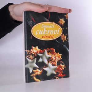 náhled knihy - Domácí cukroví vánoční