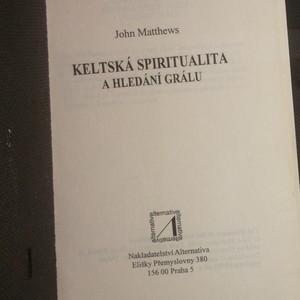 antikvární kniha Keltská spiritualita a hledání grálu, neuveden