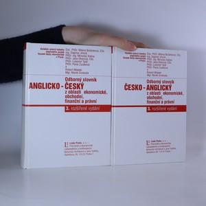 náhled knihy - Odborný slovník anglicko-český, česko-anglický z oblasti ekonomické, finanční a právní
