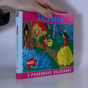 náhled knihy - Sněhurka. 3 pohádkové skládanky