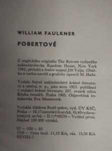 antikvární kniha Pobertové, 1965