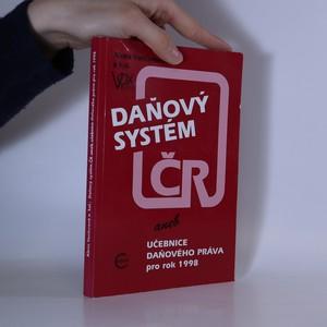 náhled knihy - Daňový systém ČR aneb Učebnice daňového práva