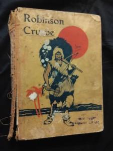 náhled knihy - Robinson Crusoe (A4 Oppl, 120 s., uvol. hjřbet,  il Jiří Wowk)