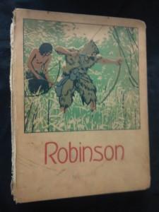 náhled knihy - Robinson Krusoe, Dobrodružné příběhy jinocha na pustém ostrově (A4, Ocpl, bez hřbetu, 148 s., doslov J. Kořenský, ilustr.)