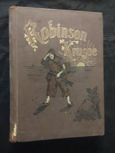 náhled knihy - Život a podivuhodná dobrodraužství Robinsona Krusoa (A4,, Ocpl, 384 s., 120 il V. Pageta, upr. Lounský, Svákovský)