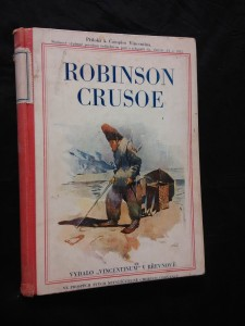 náhled knihy - Robinson Crusoe (A4 Oppl, 164 s., il )
