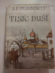 náhled knihy - Tisíc duší (A4, Ocpl, ob a il. F. Turek)