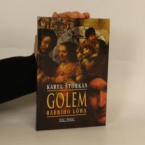 náhled knihy - Golem rabbiho Löwa