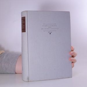 náhled knihy - Kurze Geschichte der Deutschen Literatur