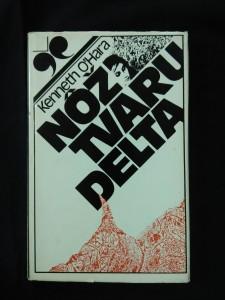 náhled knihy - Nož tvaru delta (Ocpl, 160 s., ob a vaz. K. Rosmány, slov.)