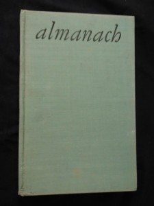 náhled knihy - Znamení krajiny - Almanach literárního klubu v Brně (Ocpl, 88 s.)
