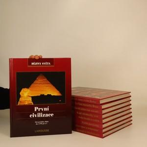 náhled knihy - Dějiny světa díl 1. - 9. (9 svazků, viz foto)