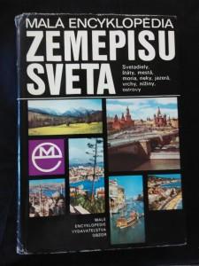 náhled knihy - Malá encyklopédia zemepisu světa (A4, Ocpl., 560 s. a 40 přil.)