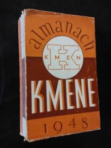 Almanach Kmene 1948 (Obr, 512 s., 12 s.na křídě, typo S. Klír