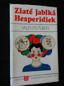náhled knihy - Zlaté jablká Hesperidiek (Ocpl, 172 s., ob, vaz, front Z. Salamon)