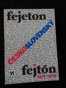 Československý fejeton/fejtón 1975-1976 (Obr, 150 s.)