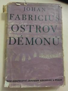 Ostrov démonů (Oppl, 260 s., ob  a typo J. Šváb)