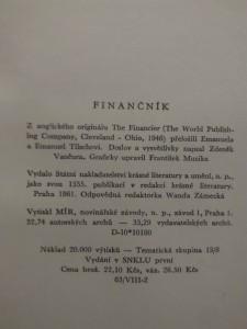 Finančník (Ocpl, 572 s.)
