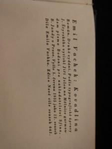 náhled knihy - Kovadlina (Ocpl., 302 s. , typo J. Štyrský)