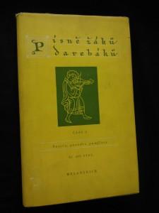 náhled knihy - Písně žáků darebáků  2. (Oppl., 212 s., ob, vaz, typo Z. Sklenář )