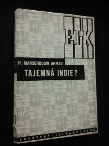 náhled knihy - Tajemná Indie? - Indie, jak ji vidí Ind (Oppl, 184 s., 101 il., typo O. Menhart)