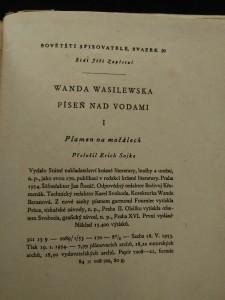 antikvární kniha Píseň nad vodami I, II, III, 1953