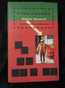 náhled knihy - Simion Výtažník - Román o andělích a Moldavanech (Ocpl, 296 s.)
