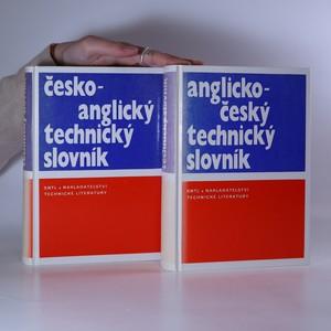 náhled knihy - Česko-anglický a anglicko-český technický slovník (2 svazky, komplet)