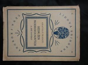 náhled knihy - Sedm žen modovousových (A5, Obr., 42 s.)
