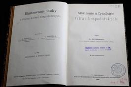 antikvární kniha Illustrované nauky o chovu zvířat hospodářských. I. díl, Anatomie a fysiologie zvířat hospodářských, 1890