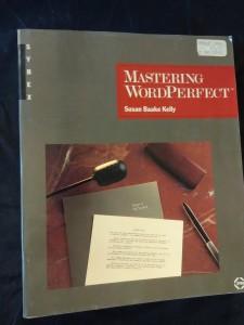 náhled knihy - MasteringWordPerfect