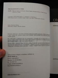 náhled knihy - Programování na webu (popis, tvorba, bezpečnost)