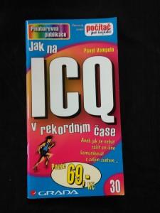 náhled knihy - Jak na ICQ v rekordním čase (Obr, 80 s.)