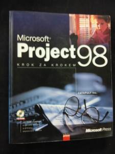 náhled knihy - Mikrosoft Project 98 krok za krokem