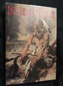 náhled knihy - Indiánské příběhy (A4, Ocpl, 288 s., ob a il. Z. Burian)