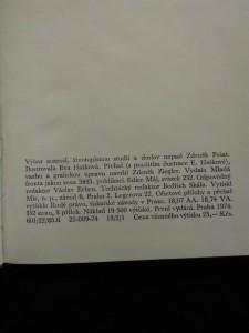 náhled knihy - Binokl na očích, v ruce hůl (výbor z díla- il. E. Hašková)