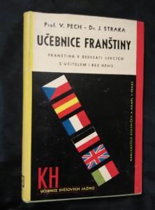 náhled knihy - Učebnice franštiny - Franština v šedesáti lekcích s učitelem i bez něho (Ocpl, 394 s.)