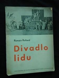 náhled knihy - Divadlo lidu (Obr, 134 s., ob. M. Kouřil)